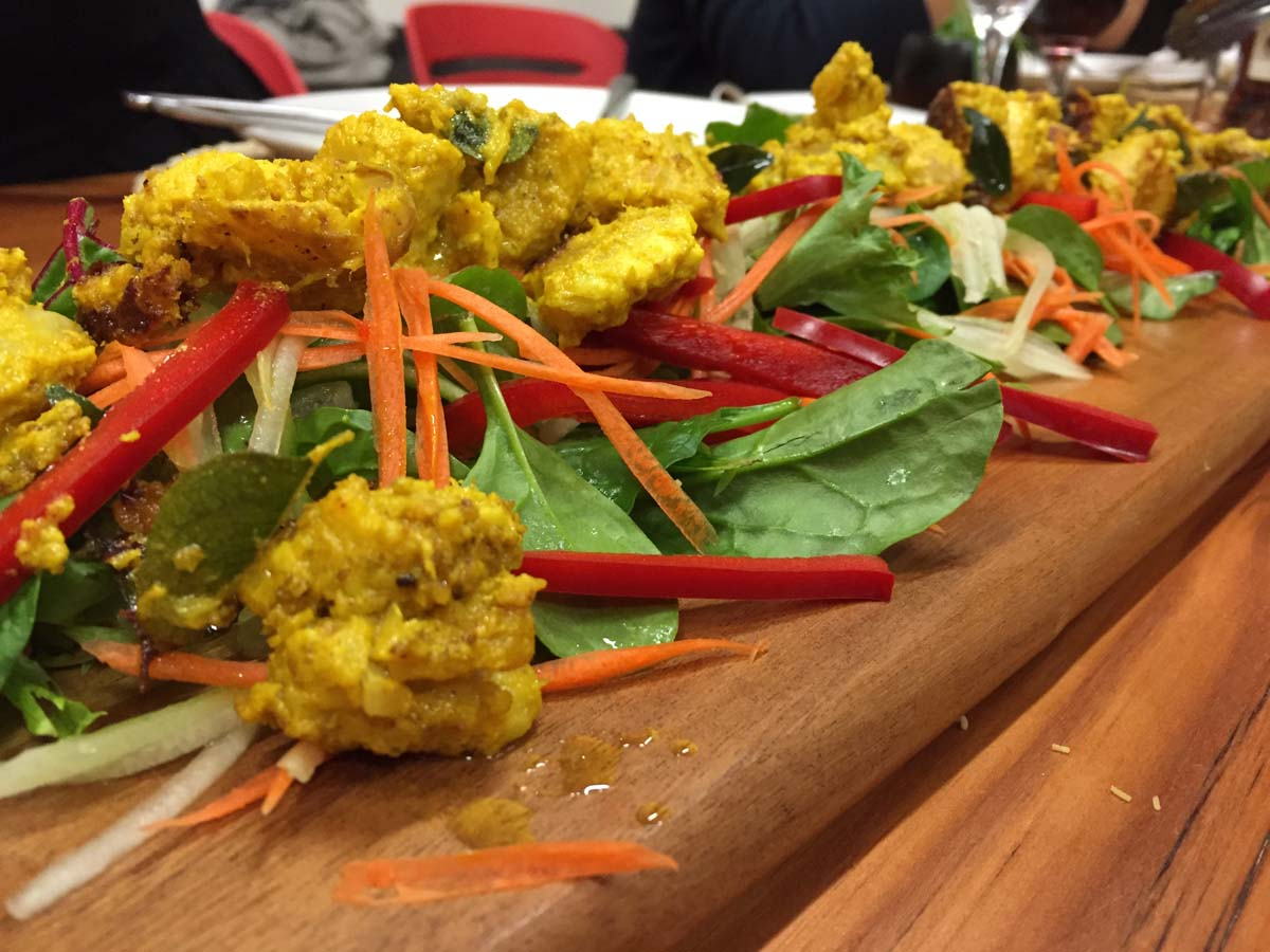 Indian fusion canape intertain for Canape spoons australia