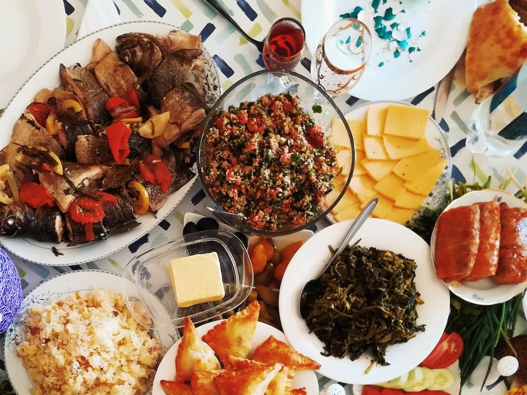 Rye Banquet Menu